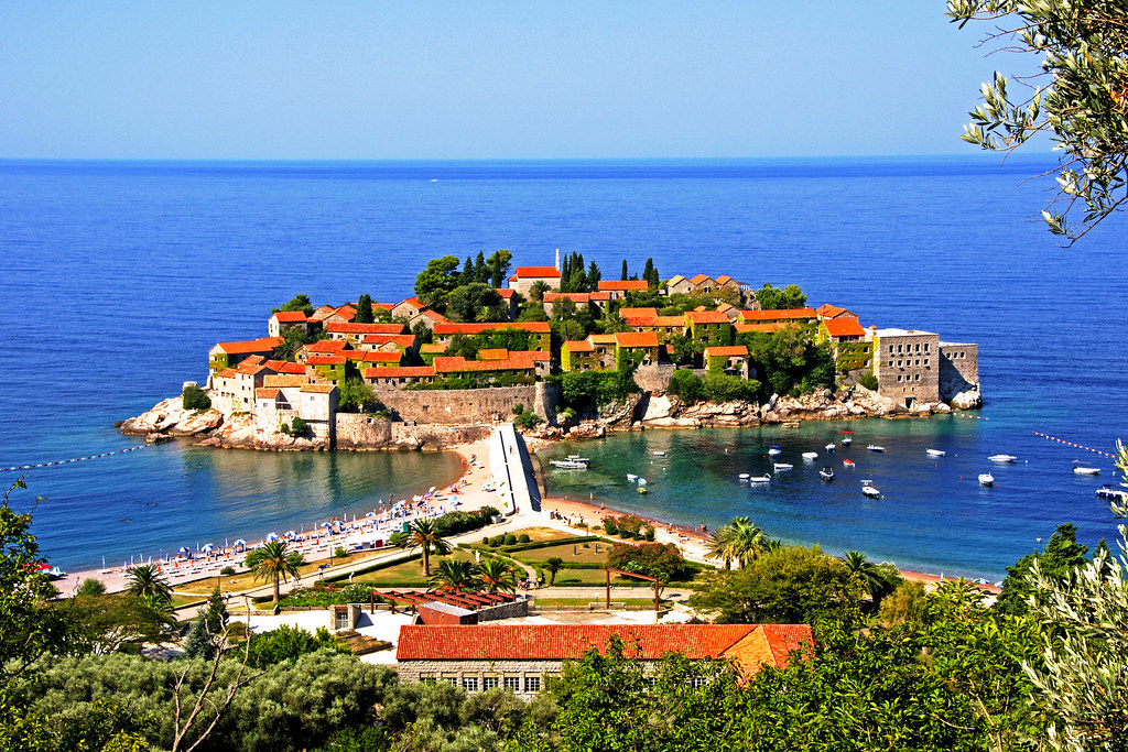 Sveti Stefan - Montenegro visit card