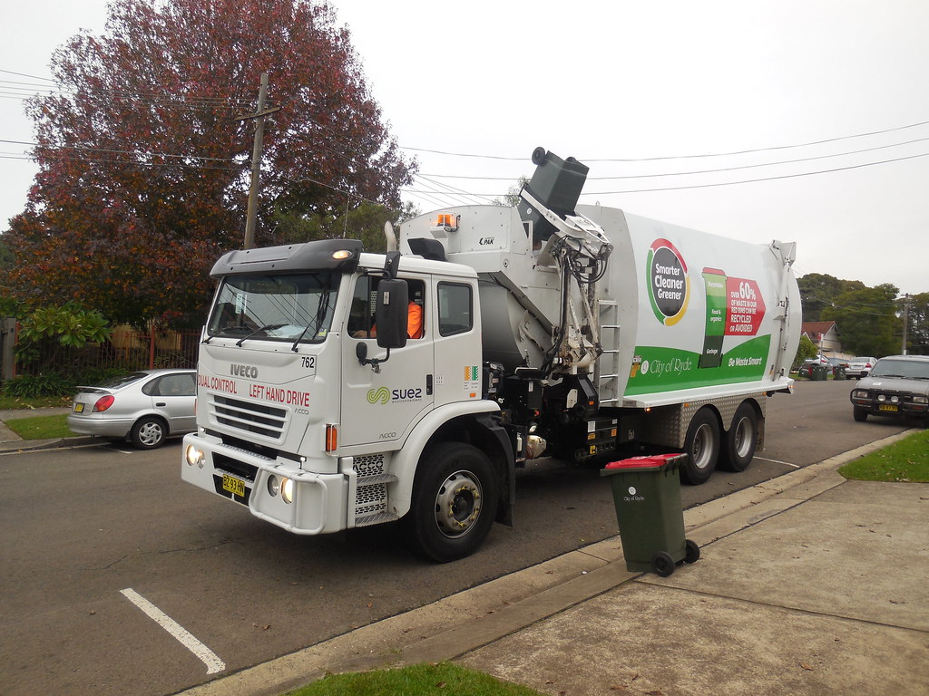 Image result for city of sydney garbage truck