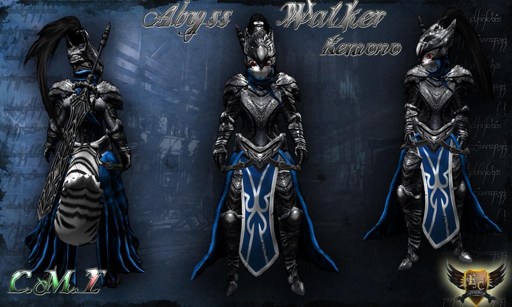 ... Abyss Walker Wallpaper   by EC-Eleran's Craft