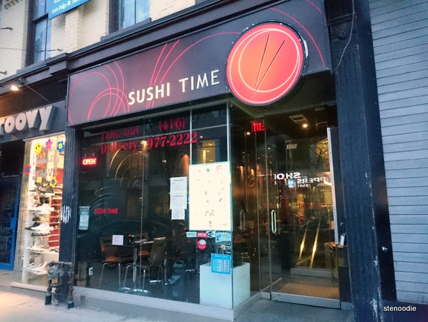 Sushi Time exterior