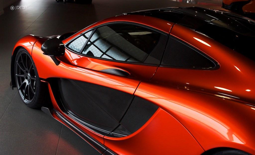 ... Volcano Orange McLaren P1   By Ravi Gill Photography