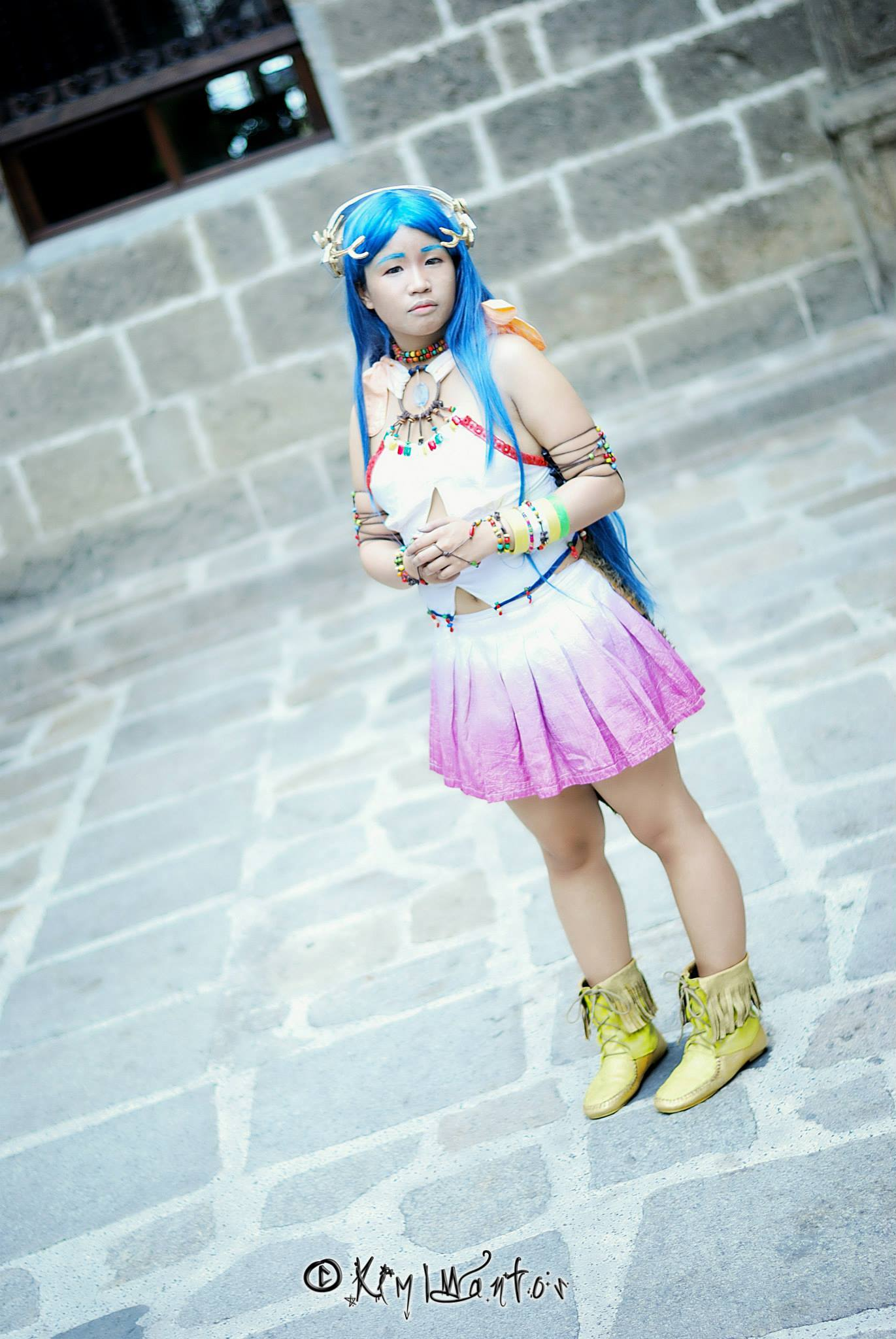 Yeul Final Fantasy XIII-2 Cosplay