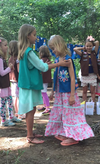 Brownie Bridging Ceremony