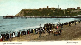 Pier, Castle and Revolving Tower from Albert Drive | by storiesfromscarborough