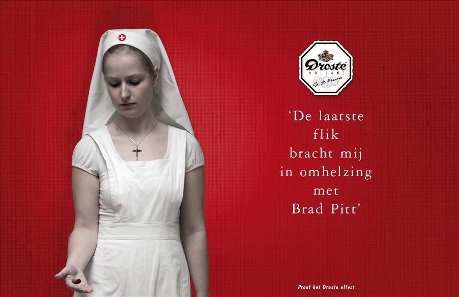 Droste: Brad Pitt | by Huub van Osch