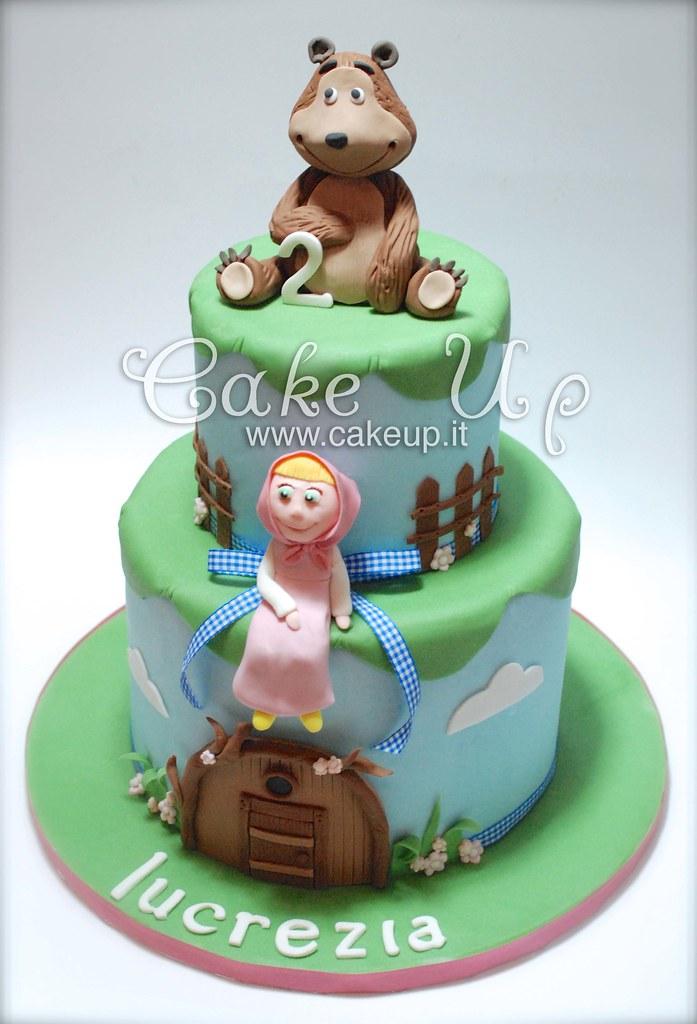 Torta Masha E Orso Cake Up Flickr