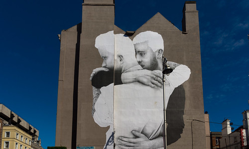 LARGE MURAL BY JOE CASLIN [SAME-SEX MARRIAGE] REF-103588 | by infomatique