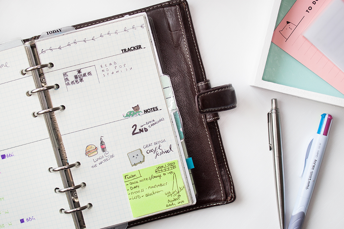 Using The Bullet Journal Method With Filofax | lifeofkitty.co.uk