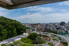 Landscape from Ikegami Hall observatory #2