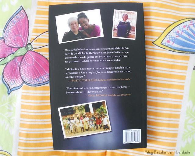 Resenha, livro, O-Voo-da-Bailarina, Michaela-DePrince, Elaine-DePrince, editora-BestSeller