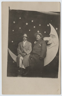 [Two Men on a Paper Moon] | by SMU Central University Libraries