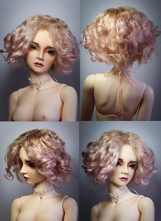 Angora mohair wig for sale | by SophyMolly