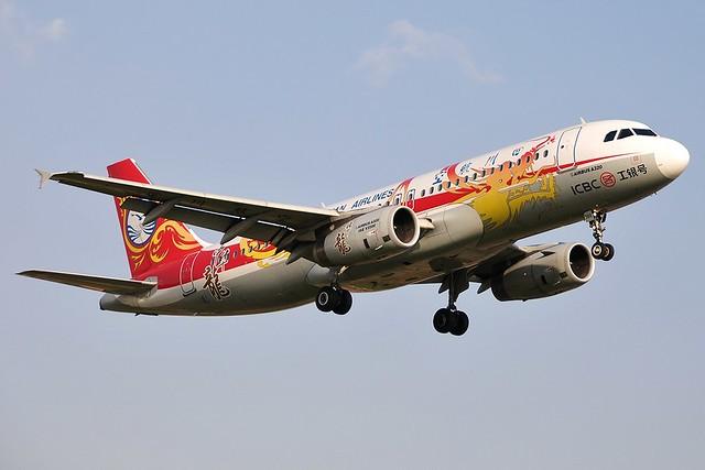 A.320-232 C.n 3591 'B-6388' Sichuan Airlines.2