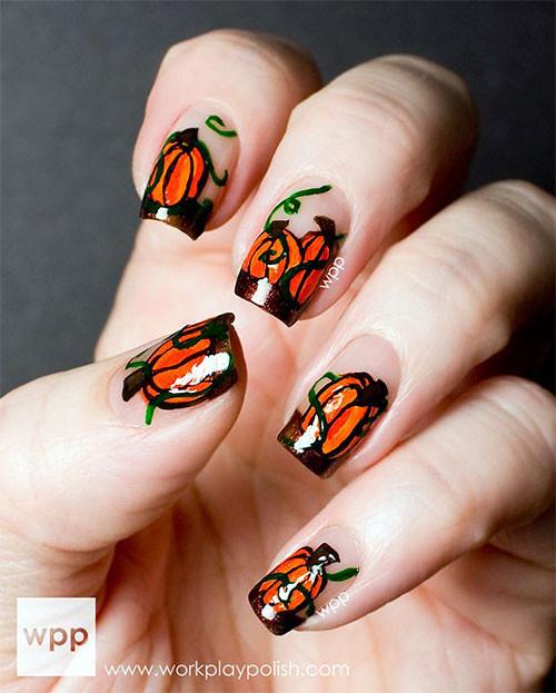 Pumpkin Nail Design | by aconk_okinawa Pumpkin Nail Design | by  aconk_okinawa - Pumpkin Nail Design Via Nails Designs Blog Ift.tt/1ORhTrt Aconk