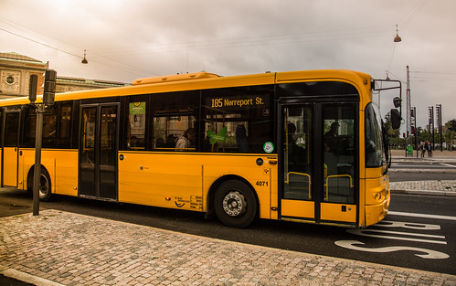 Nørreport Bus - Copenhagen | by Tony Webster