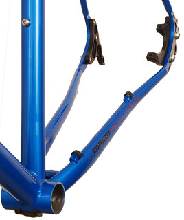 Waterford 14-Series Vision Design with Modular Disc Dropouts in Blue Flame | by waterfordbikes