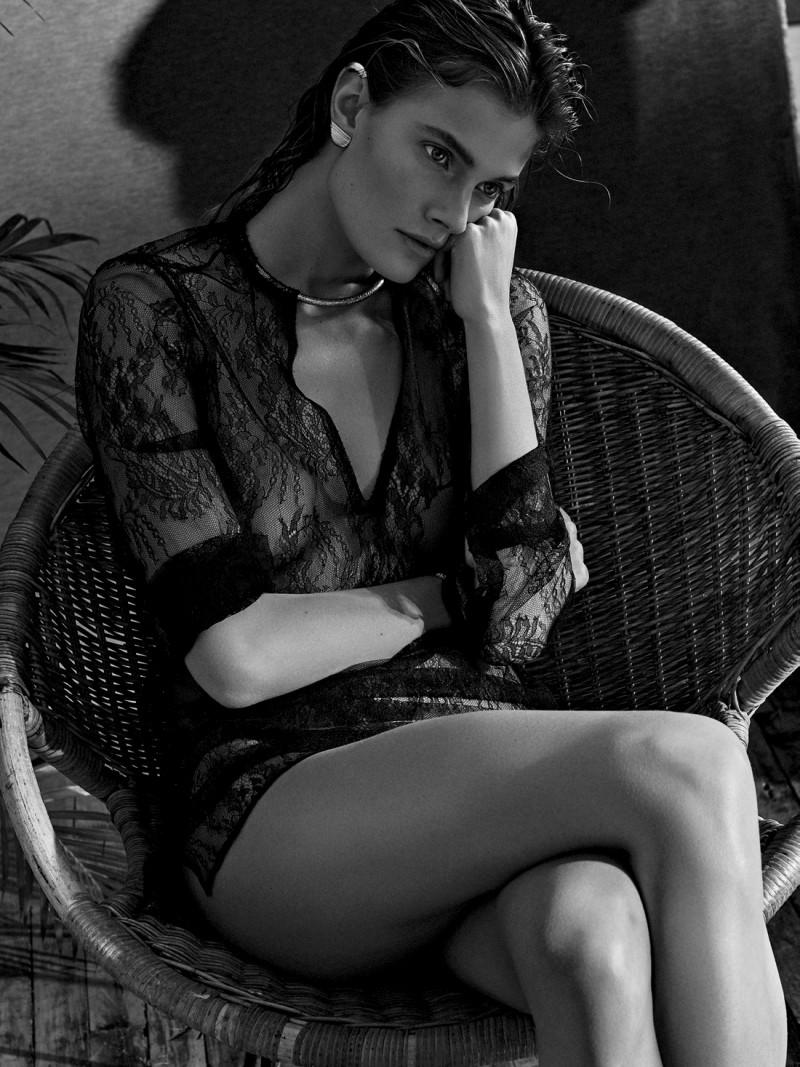 Constance Jablonski by Alique for Air France Madame June / July 2016