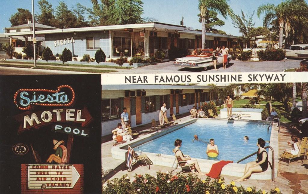 Siesta Motel - St. Petersburg, Florida