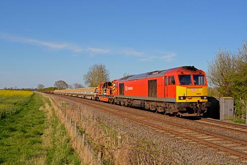 Db Schenker 60039 Works 7b06 Toton North Yard To Leagrave