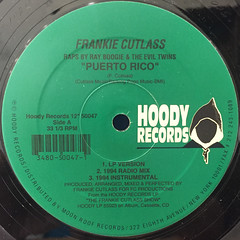 FRANKIE CUTLASS:PUERTO RICO(LABEL SIDE-A)