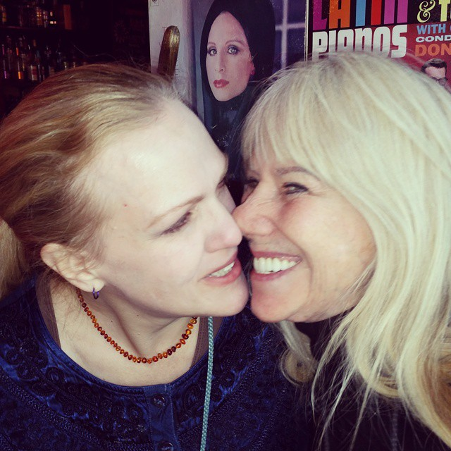 Mature girl kiss
