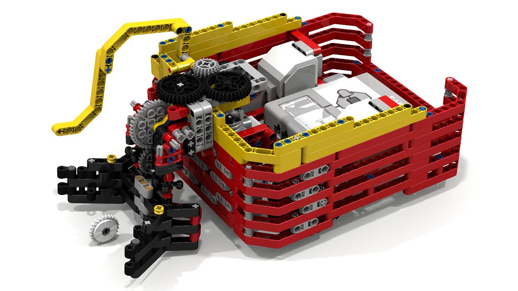 Lego Fllying Turtle EV3 Robot with Shell1 | Have you noticed… | Flickr