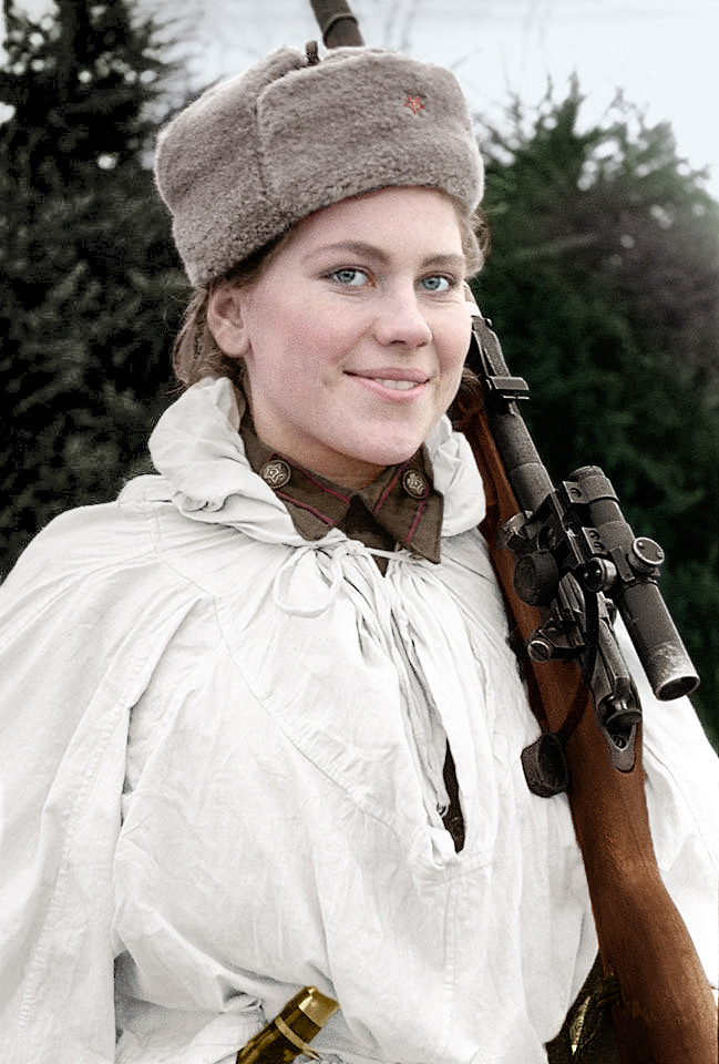 ROZA SHANINA, A SOVIET SNIPER DURING WORLD WAR II (03.04.1924 – 28.01.1945)