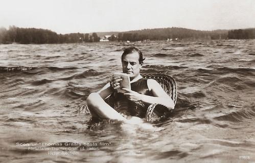Victor Sjöström in Thomas Graals bästa film