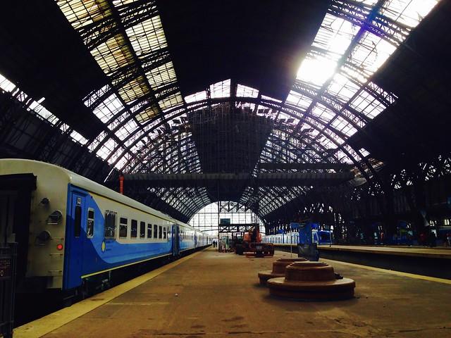 Retiro Train Station Platform 7