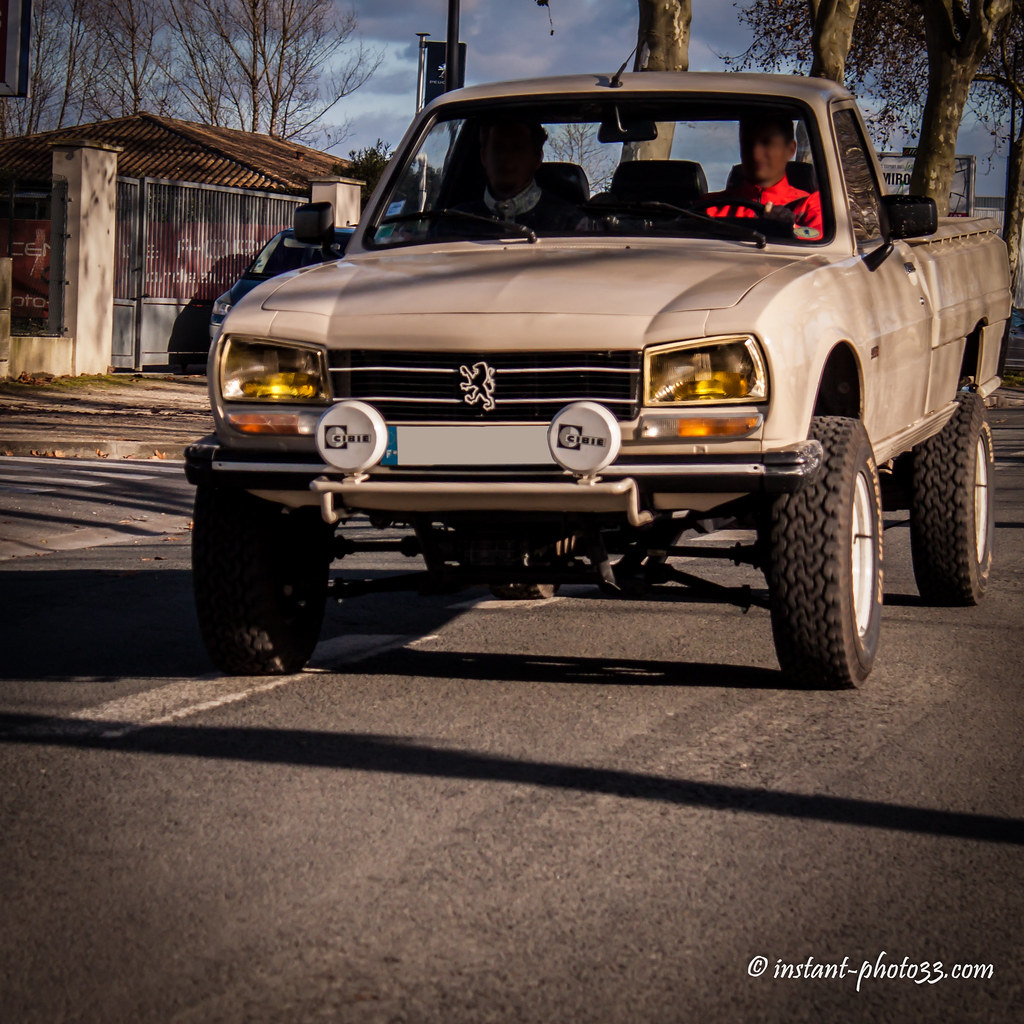 Peugeot 504 4x4 Dangel Old French Pick Up Rassembl Flickr