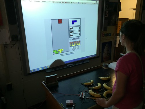 Playing Tetris with Makey Makey | by Wesley Fryer