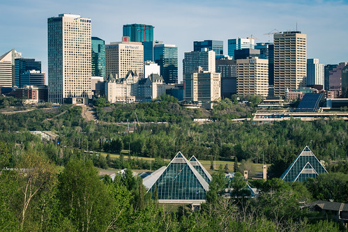 Good Morning Edmonton | I get this view every morning on my … | Flickr