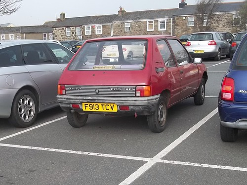 peugeot 205 xe the most basic 205 you can get in very rea flickr. Black Bedroom Furniture Sets. Home Design Ideas