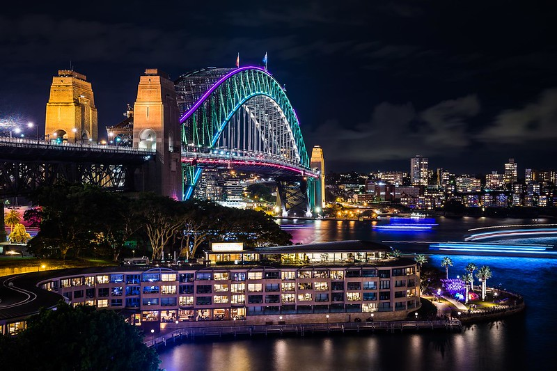Vivid Sydney 2016_Sydney Harbour Bridge_CREDIT Destination NSW_KM-47913