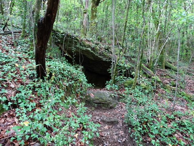 Cueva en las Fragas Do Eume