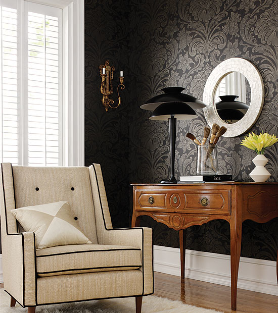 ... Living Room Hall Decorating Ideas Home Decor Black