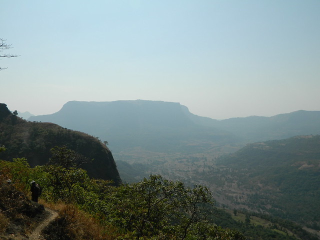 bocheghol traverse with raigad varangi view