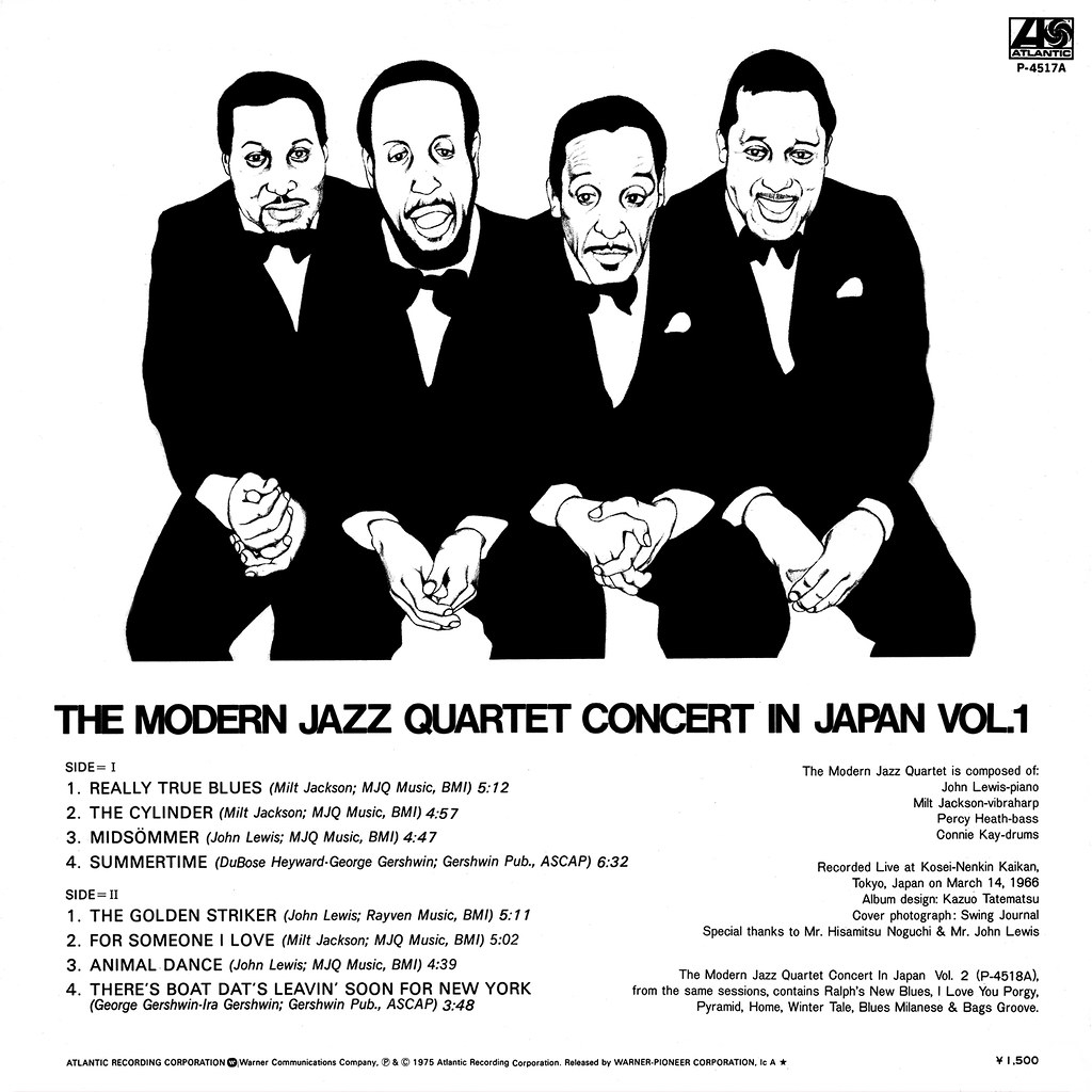 The Modern Jazz Quartet -  Concert in Japan Vol. 1