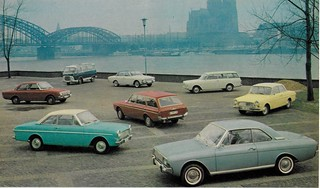 German Fords in Cologne, 1965 | by IFHP97