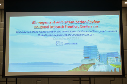 Conference on Globalization of Knowledge Creation and Innovation in the Context of Emerging Economies (2014.12.04-07)