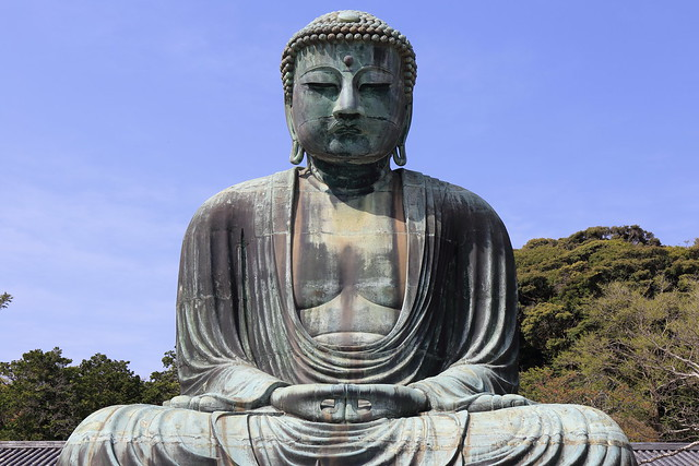 Walking in Kamakura 2015.4 (22) The Great Buddha in Kamamura
