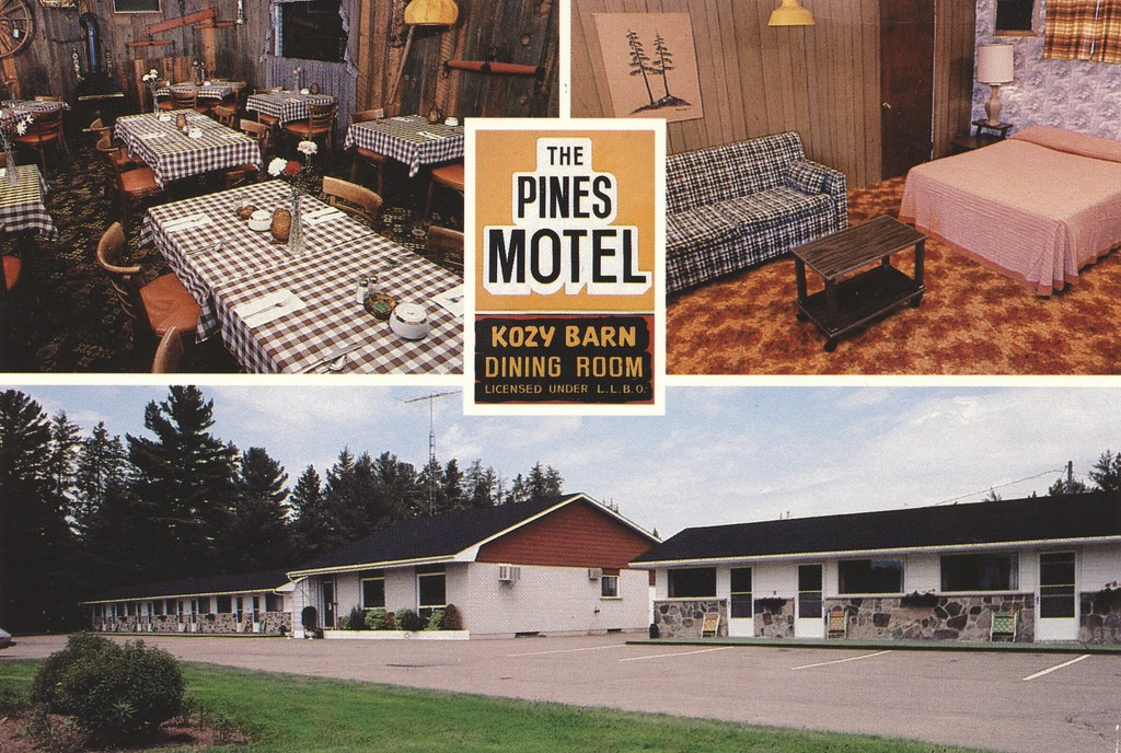 The Pines Motel and Kozy Barn Dining Room - Deep River, Ontario