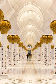 Grand Mosque Colonade IV | by andryn2006