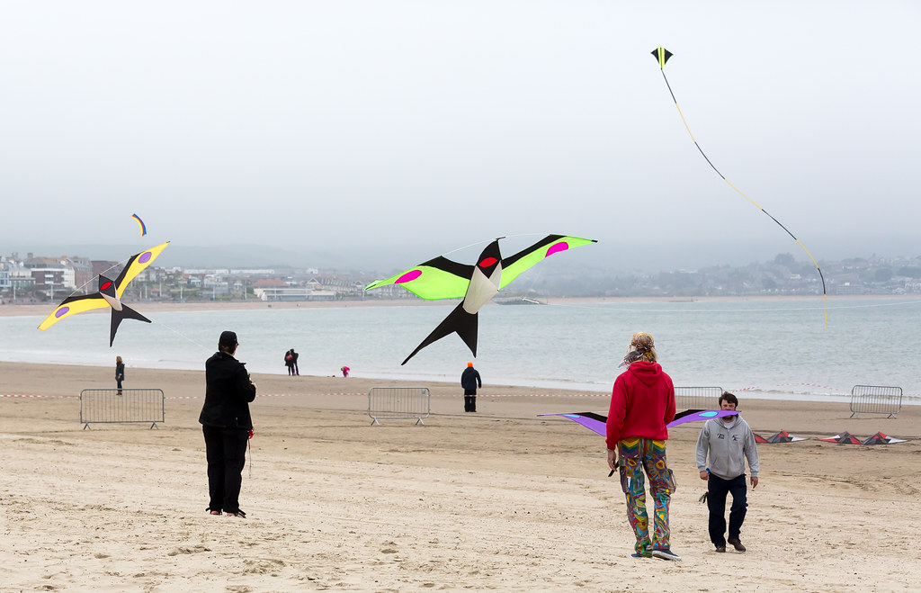 Weymouth kite festival