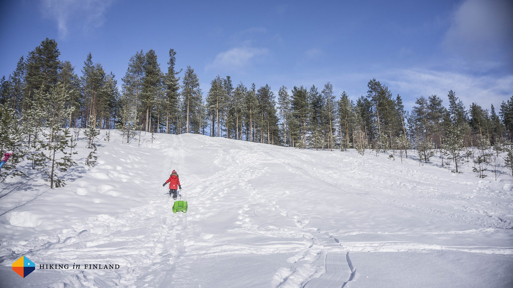 Pyhä Sled Hill