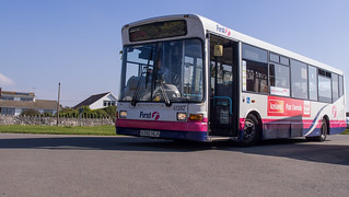 First Cymru 41392 on route 14 at Pennard Cliffs | by interbeat