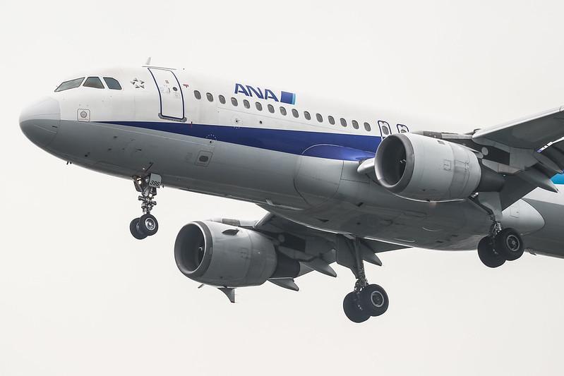 JA8396 ANA 全日空 Airbus A320-200