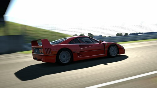ferrari f40 stock silverstone gran prix circuit mervin choa flickr. Black Bedroom Furniture Sets. Home Design Ideas