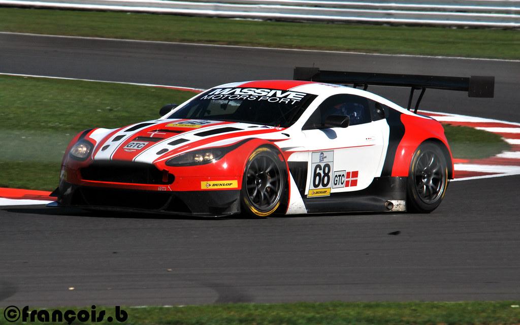 Massive Motorsport Aston Martin V12 Vantage Gt3 Luffield Flickr