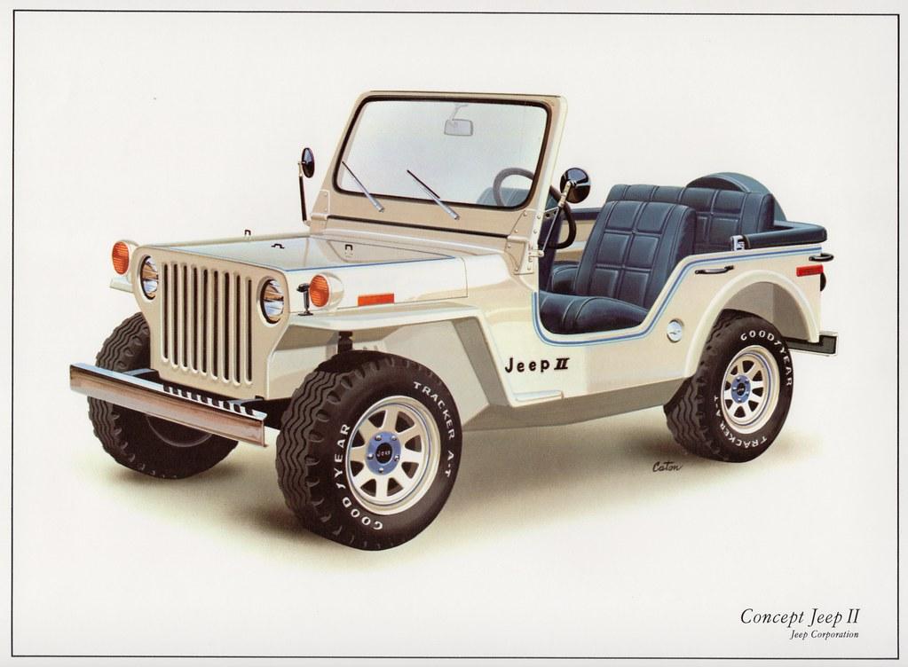1977 AMC Concept Jeep II | Concept Jeep II demonstrates Jeep… | Flickr